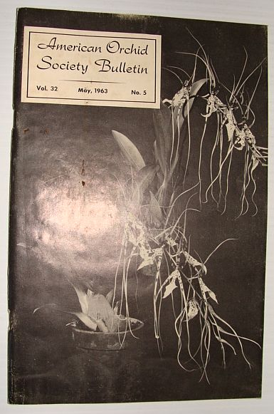 Image for American Orchid Society Bulletin Vol. 32 May, 1963 No. 5