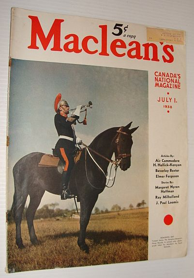 Image for Maclean's Magazine, 1 July 1938