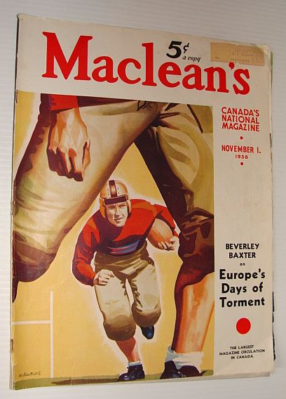 Image for Maclean's Magazine, 1 November 1938