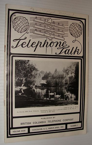 Image for Telephone Talk, Volume XXXI, Number 2, March-April 1941