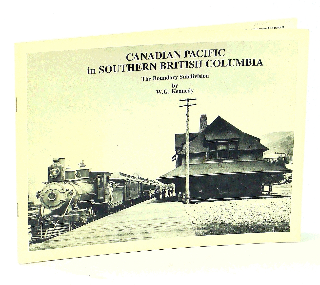 Image for Canadian Pacific in Southern British Columbia: The Boundary Subdivision