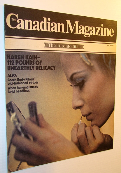 Image for The Canadian Magazine, 15 February 1975 - Karen Kain