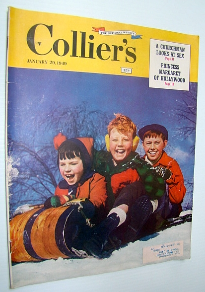 Image for Collier's - The National Weekly Magazine, January 29, 1949 - Child Actress Margaret O'Brien / Frank Woolworth