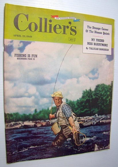 Image for Collier's - The National Weekly Magazine, April 23, 1949 - The Dionne Quints