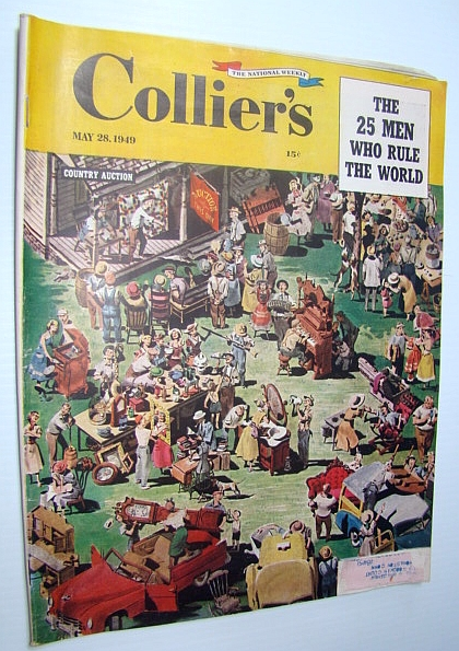 Image for Collier's - The National Weekly Magazine, May 28, 1949 - The 25 Men Who Rule the World