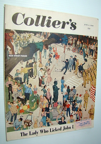Image for Collier's - The National Weekly Magazine, June 4, 1949 : Hank Meyers - Pilot to the President
