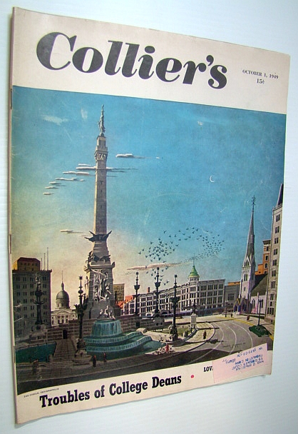 Image for Collier's, The National Weekly Magazine, October 1, 1949 - Paul (Dreamboat) Douglas / Boater Bob Lane