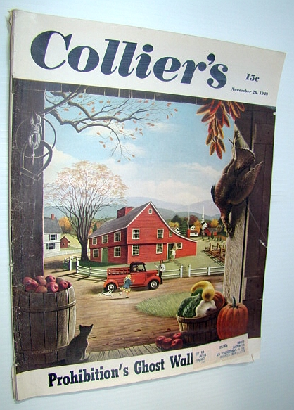 Image for Collier's - The National Weekly Magazine, November 26, 1949 - Sir Louis Stirling / Canada's Family Allowances Act (Baby Bonus)