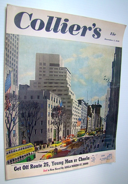 Image for Collier's - The National Weekly Magazine, December 3, 1949 - Charlie Campbell is the King's Man
