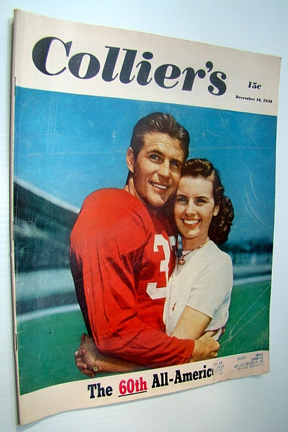 Image for Collier's - The National Weekly Magazine, December 10, 1949 - SMU Quarterback Doak Walker Cover Photo