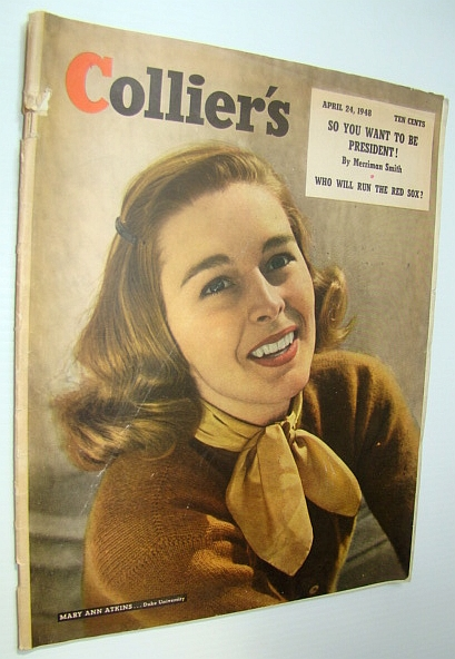 Image for Collier's Magazine, April 24, 1948 - Mary Ann Atkins Cover Photo