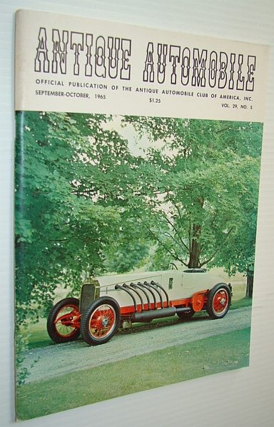 Image for Antique Automobile Magazine - Official Publication of the Antique Automobile Club of America, Inc., September-October 1965 - 1921 Benz-Mercedes Racing Car Cover Photo
