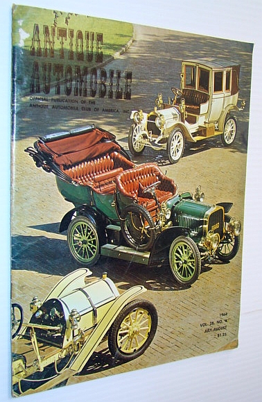 Image for Antique Automobile Magazine - Official Publication of the Antique Automobile Club of America, Inc., July-August 1964