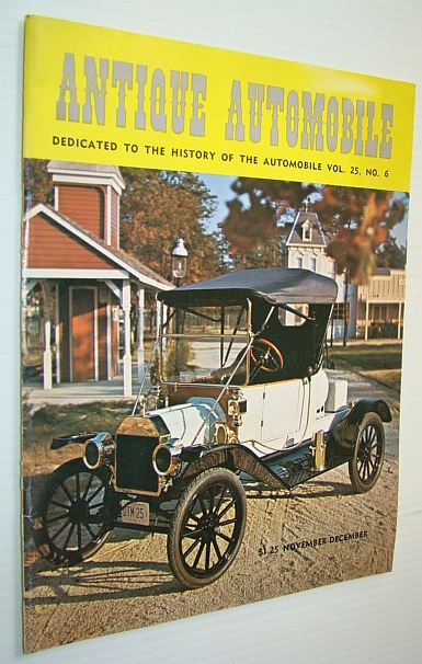 Image for Antique Automobile Magazine - Dedicated to the History of the Automobile, November-December, 1961