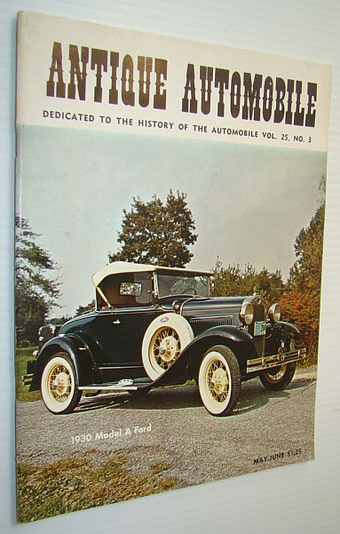 Image for Antique Automobile Magazine - Dedicated to the History of the Automobile, May-June 1961