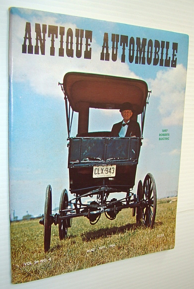 Image for Antique Automobile Magazine, August-September 1960  *Special Electric Vehicle Issue*