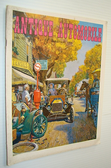 Image for Antique Automobile Magazine, Christmas/December 1959 - Model T Features