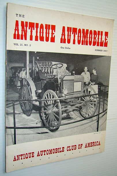 Image for The Antique Automobile Magazine, Summer 1957 (Vol. 21, No. 2)