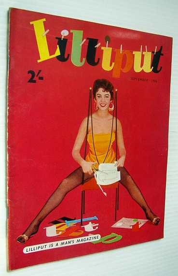 Image for Lilliput Magazine, September 1956 - Jackie Lane Cover Photo