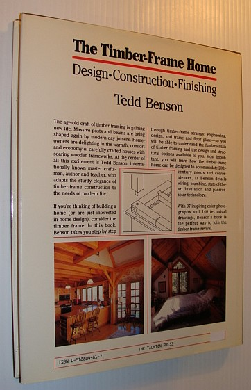 Image for Timber-Frame Home: Design, Construction, Finishing
