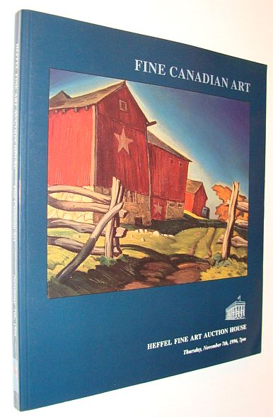 Image for Fine Canadian Art - Heffel Auction Catalogue, Thursday, November 7th, 1996, Vancouver