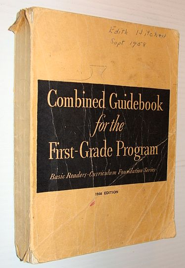 Image for Guidebook for the Pre-Reading and Pre-Primer Programs of the Basic Readers (Curriculum Foundation Series The 1946-47 Edition)