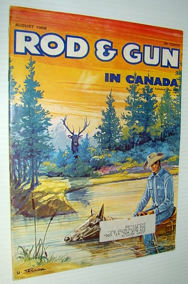 Image for Rod & Gun in Canada Magazine, August 1968