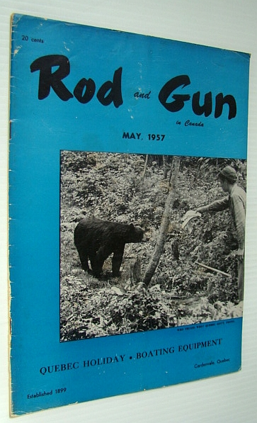 Image for Rod & Gun in Canada Magazine, May 1957 - Quebec Holiday/Boating Equipment
