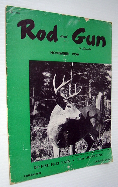Image for Rod and Gun in Canada Magazine, October 1956 - Do Fish Feel Pain?