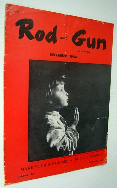 Image for Rod and Gun in Canada Magazine, December 1956 - Make Your Ice Chisel