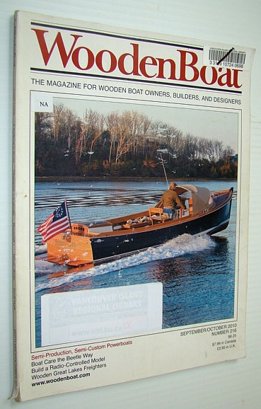 Image for WoodenBoat (Wooden Boat) Magazine, September/October 2010