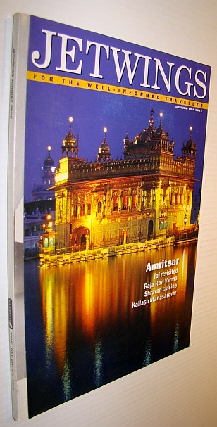 Image for Jetwings, August 2006: Monthly Magazine of Jet Airways - Amritsar