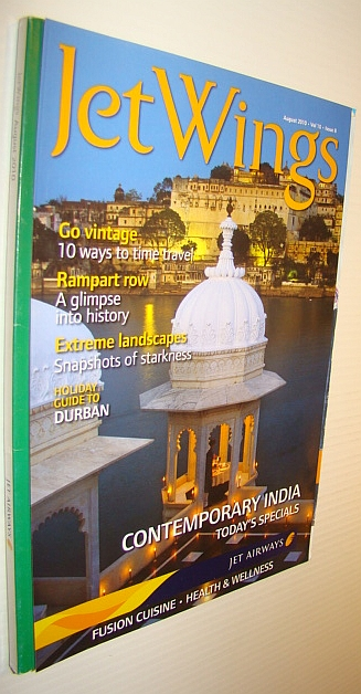 Image for Jetwings, August 2010: Monthly Magazine of Jet Airways - Contemporary India