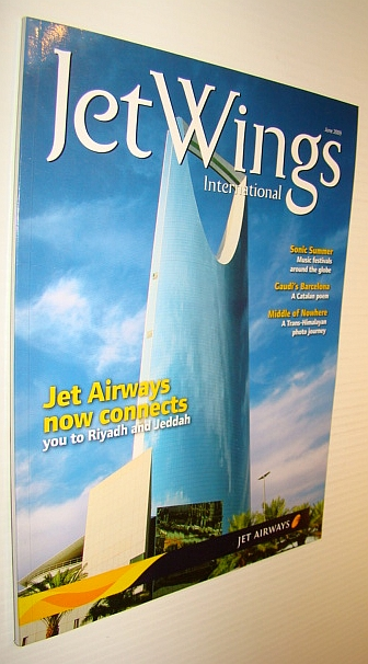 Image for Jetwings International, June 2009: Monthly Magazine of Jet Airways - Now Connecting to Riyadh and Jeddah
