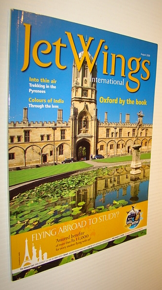 Image for Jetwings International, August 2009: Monthly Magazine of Jet Airways - Oxford By the Book