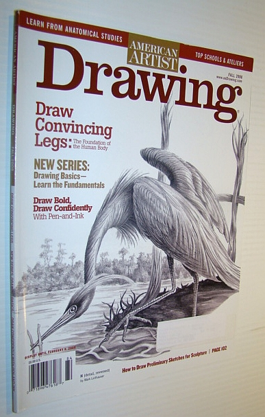 Image for American Artist Magazine - Drawing, Fall 2008: Drawing Convincing Legs