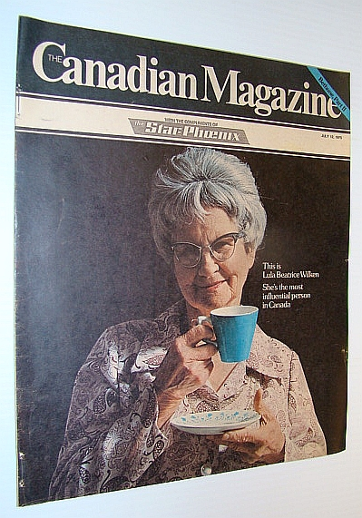 Image for The Canadian Magazine, July 12, 1975 - Golfer Moe Norman / Cover Photo of Lula Beatrice Wilken, Canada's Most Influential Person