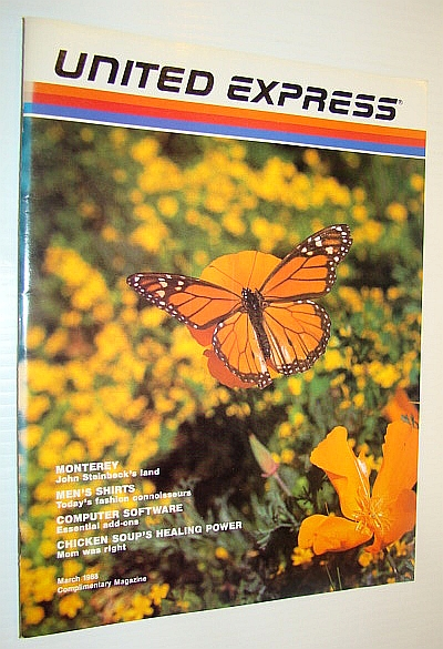Image for United Express (Airlines) Magazine, March 1988