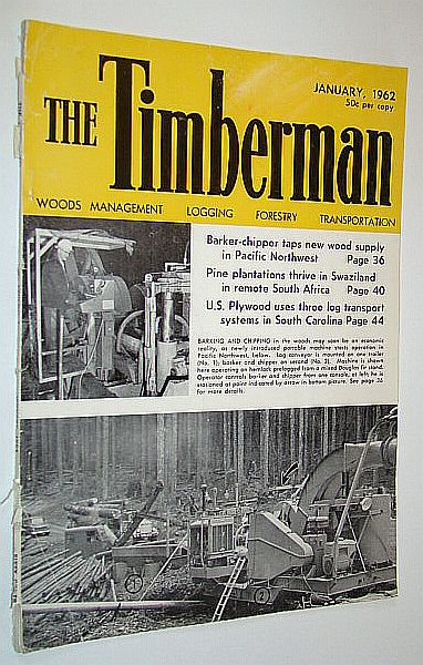 Image for The Timberman Magazine, January 1962