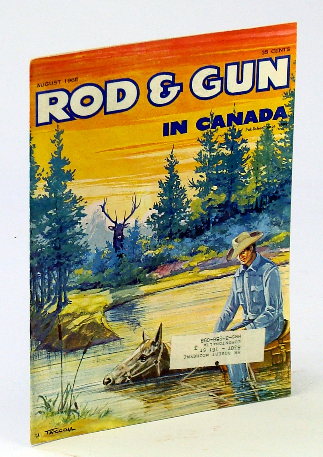 Image for Rod & Gun in Canada Magazine, August [Aug.] 1968 - Point Pelee National Park