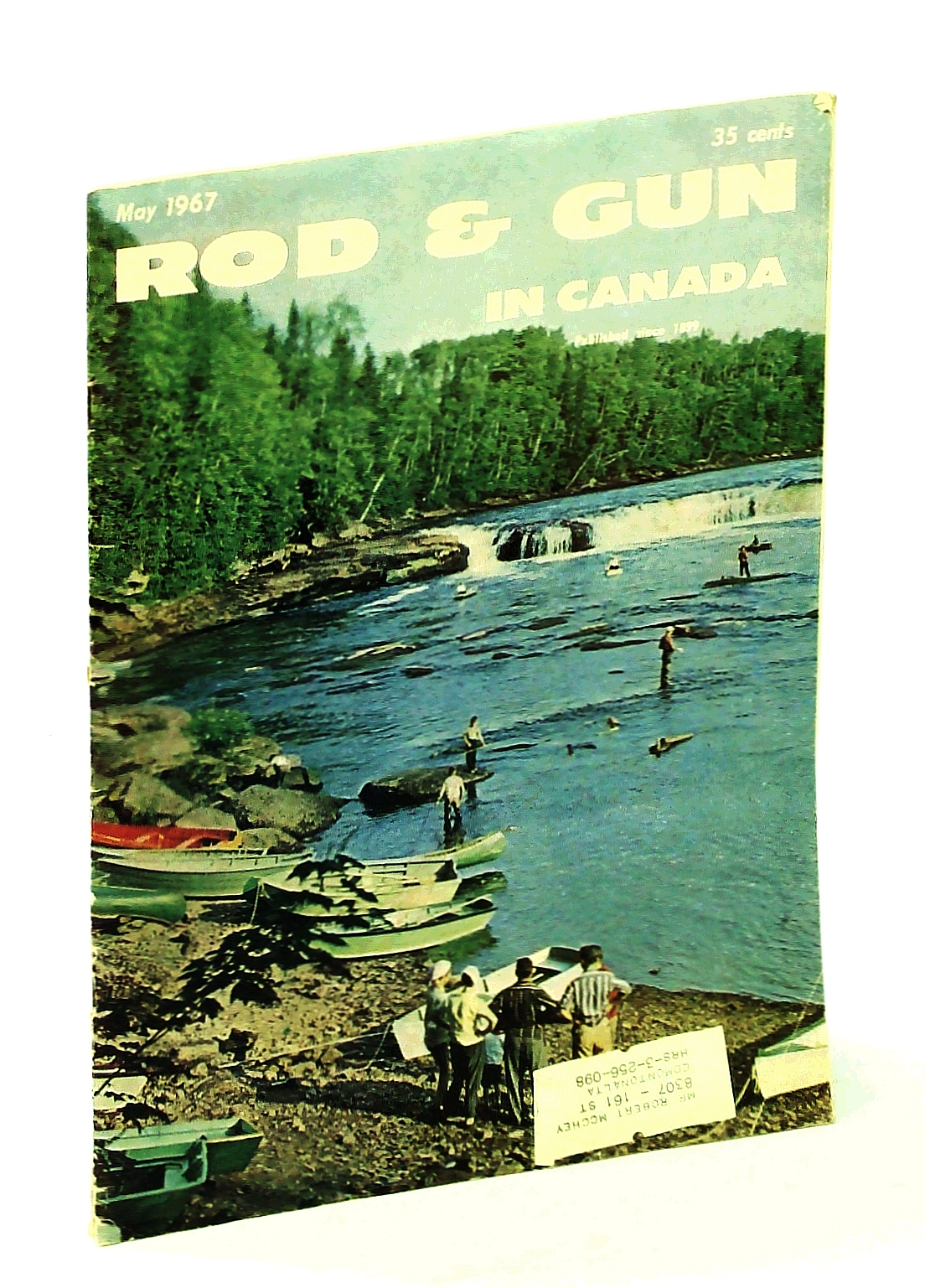 Image for Rod & Gun in Canada Magazine, May 1967