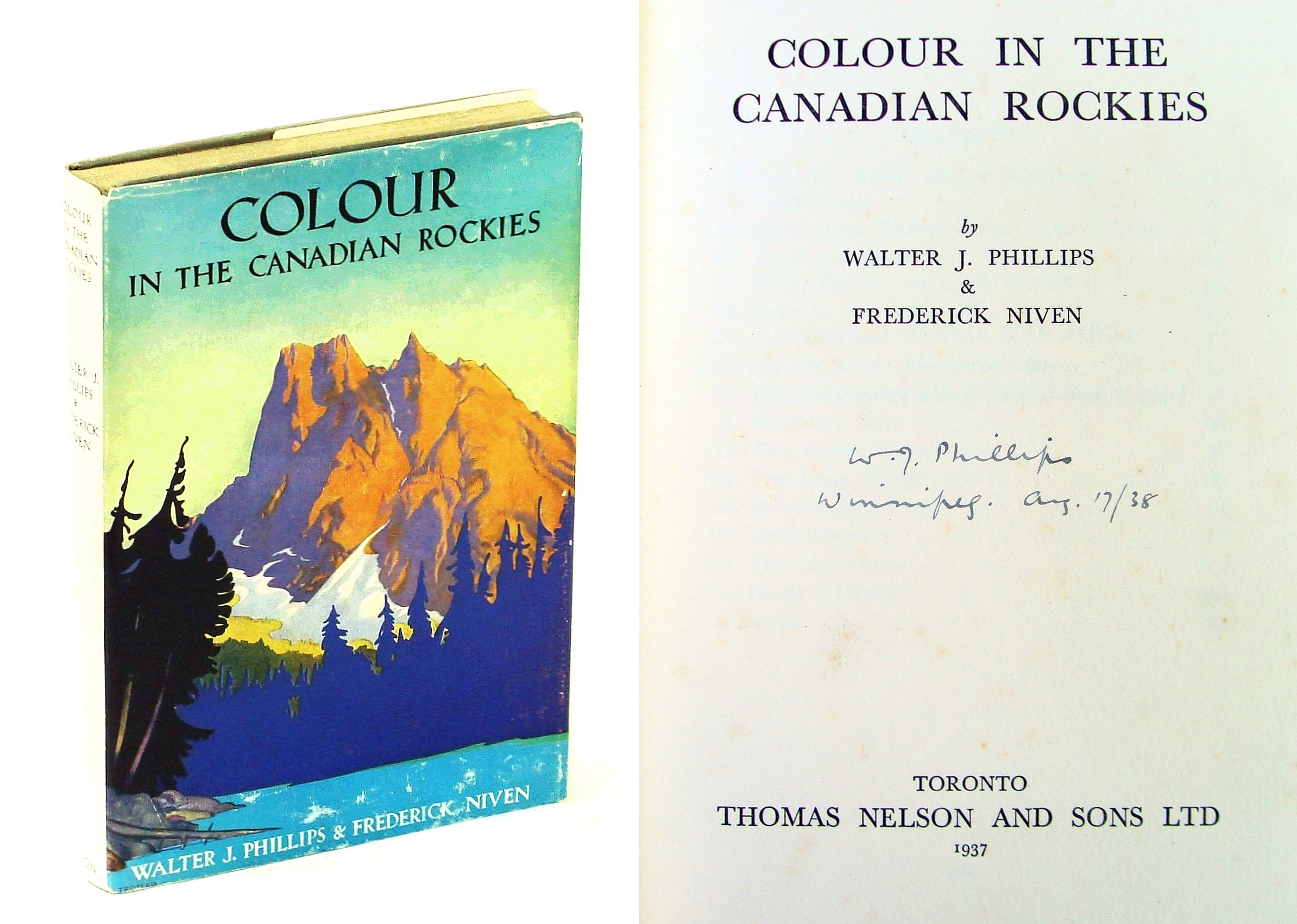 Image for Colour in the Canadian Rockies,