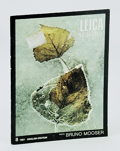 Image for Leica Fotografie, 8/1981, English Edition