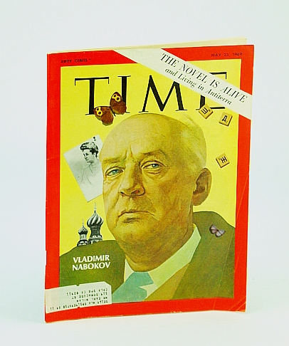 Image for Time Magazine May 23 1969 The Novel is Alive and Living in Antiterra   Vladimir Nabokov