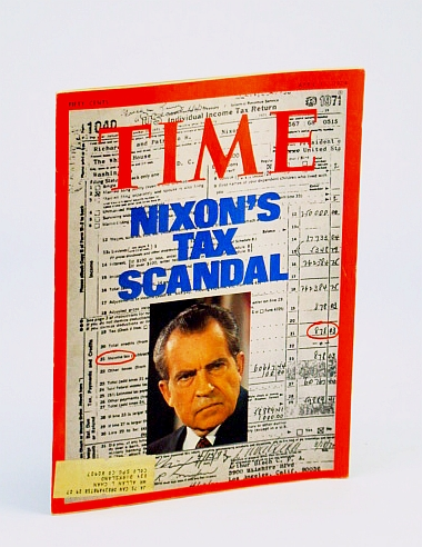 Image for Time April 15 1974 Richard Nixon on Cover (Tax Scandal), Watergate/Impeachment Hearings, Patty Hearst, Pop Art, The Conversation/Francis Ford Coppola, The Sugarland Express/Steven Spielberg, Zen and the Art of Motorcycle Maintenance/Robert Persig