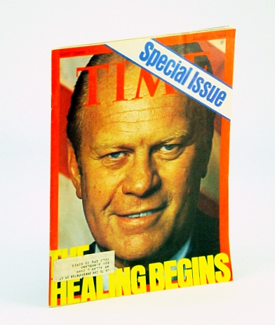 Image for Time August 19 1974 President Gerald Ford on Cover, Exit Richard Nixon, Watergate Wrapup, The Unmaking of The President, Lots of Nixon Stories, International Reaction