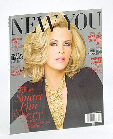 Image for New You Magazine, Fall 2014 - Jenny McCarthy Cover Photo