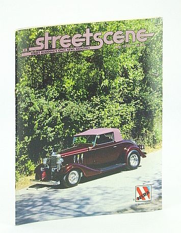 Image for Streetscene (Street Scene) Magazine, July 1986 - Cover Photo of Rich and Shirlee Miller's 1933 Chevrolet Cabriolet