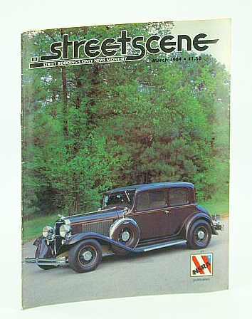 Image for Streetscene (Street Scene) Magazine, March (Mar.) 1984 - Cover Photo of Gene and Donna Dickson's 1932 Dodge