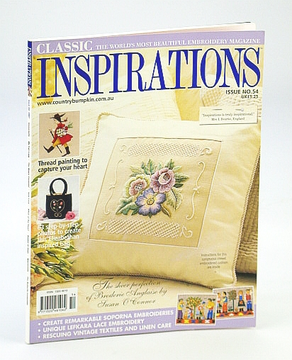 Image for Inspirations Magazine - The World's Most Beautiful Embroidery, 2007, Issue No. 54